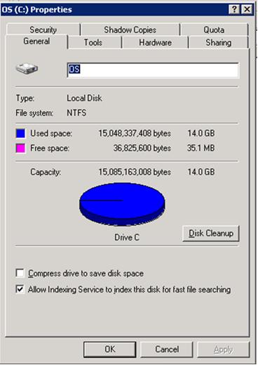 disk-full